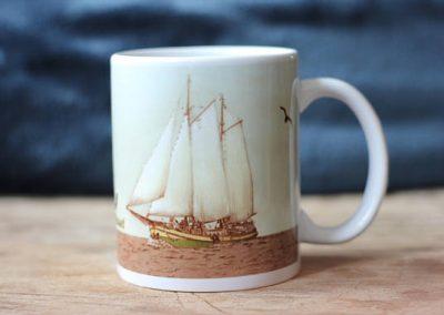 klipper kaat mossel mug by ArteMie