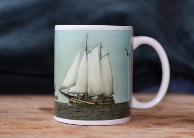 Kaat Mossel clipper coffee mug