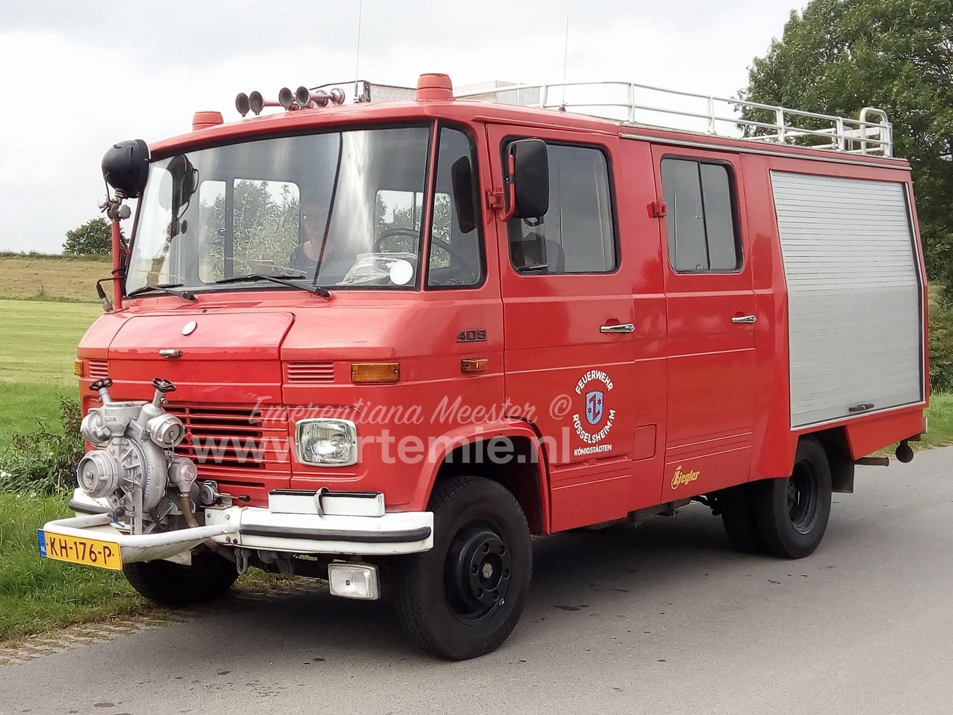 Our Mercedes 409 Firetruck