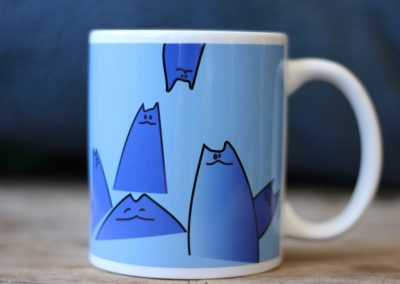Cartoon Cat Mug