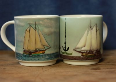 Clipper Kaat Mossel Mug in 2 styles by ArteMie